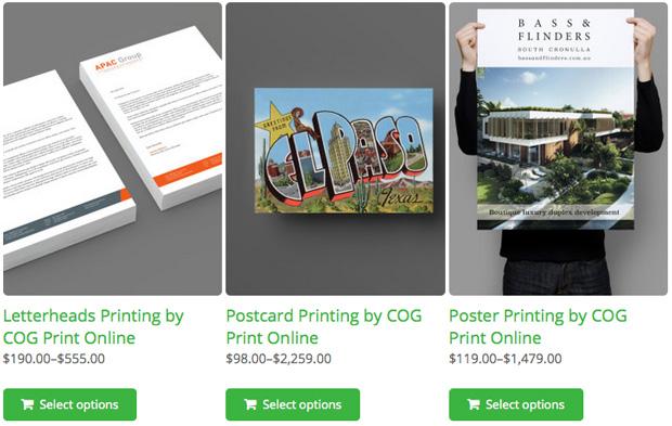 COG Print Shop