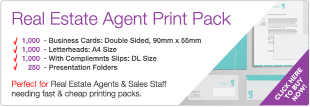 COG Print printing package deal Real Estate Agents