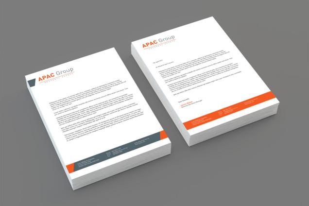 COG Print stationery letterheads A4 sydney